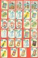 Figurine MIRA LANZA - Trading Cards- Gift Cards --lotto Di 29 Pezzi Differenti - Pubblicitari