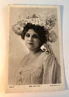 Vintage Postcard . Edwardian Actress EDNA MAY Posted C1908. Stamp & Postmark - Théâtre