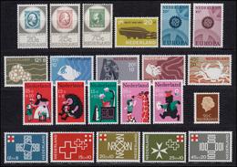 871-892 Niederlande-Jahrgang 1967 Komplett Mit Block 6, Postfrisch - Niederlande