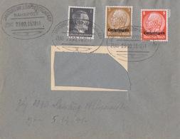 Lettre (adresse Découpée) Obl Ambulant (T172 Zug 2390 Saarburg-Albersweiler) Sur TP Lotr 8+3pf Le 5/12/41 - Marcophilie (Lettres)