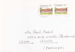 POLOGNE ENVELOPPE DE WROCLAW POUR AMILLY DU 7 JANVIER 2000 - 1944-.... République