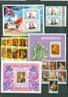 Grenada Winston Churchill Christmas Botticcelli Paintings Virgin And Child  MNH 1974 1975 WYSIWYG A04s - Grenada (1974-...)