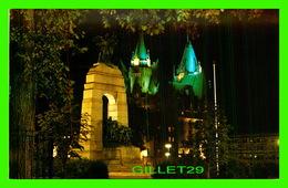 OTTAWA, ONTARIO - NATIONAL WAR MEMORIAL, UNVEILED BY KING GEORGE VI IN 1939 - - Ottawa
