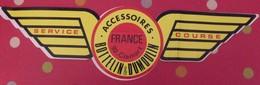 Grand Autocollant Bottelin & Dumoulin. Accessoires Servive Course. 92 Clamart. Vers 1960-70 - Stickers