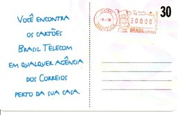 Télécarte Brésil Timbre Stamp   Phonecard  (G09) - Timbres & Monnaies