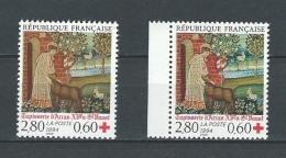 "FR YT 2915 & 2915a "" Croix-Rouge "" 1994 Neuf** - France"