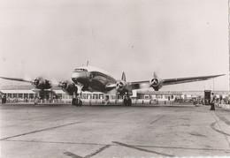 CPSM  AVION LOCKEED CONSTELLATION AIR FRANCE - 1946-....: Ere Moderne