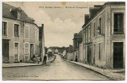 CORMES  - Route De Courgenard  - Voir Scan - France