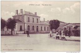 AVENAY --Place  De  La Gare - France