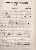 Soirées Du Jeune Violoniste N°13 LAKME Opèra LEO DELIBES Fantaisie Indienne Violon  Piano Ad. Heugel Et Fils Ed.Herman - Scores & Partitions