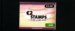 IRELAND/EIRE - 2007  € 2  BOOKLET  FLOWERS  (3x55c+1x25c+2x5c)   MINT NH - Libretti