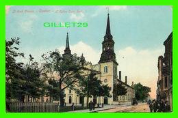QUÉBEC CITY - ST ROCH CHURCH - ANIMÉE - L'ÉGLISE SAINT- ROCH - CIRCULÉE EN 1911 - ILLUSTRATED POST CARD CO - - Québec - La Cité