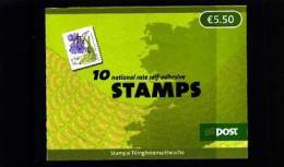 IRELAND/EIRE - 2007  € 5.50  BOOKLET   FLOWERS  SELF-ADHESIVE   MINT NH - Libretti
