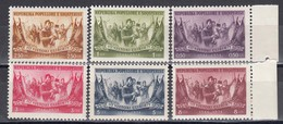 Albania 1954 - 10th Anniversary Of Liberation, Mi-Nr. 533/38, MNH** - Albanie