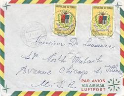 Congo 1968 Brazzaville Poto Poto Armory Elephant Cover - Enveloppes