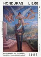 Lote H12, Honduras, 1992, HF, SS, Bicentenario Del Nacimiento General Francisco Morazan - Honduras