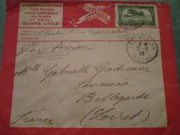 Envoyez Vos Lettres Par Avion.....sur Les Lignes Aériennes Latécoère France-Maroc-Algérie - Morocco (1891-1956)