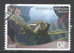Greece 2012. Scott #2522a (U) Marine Life, Caretta Caretta, Turtle * - Grèce