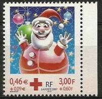 "FR YT 3436a "" Croix-Rouge Du Carnet "" 2001 Neuf** - France"