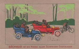 CHOCOLAT SECHAUD - Werbepostkarten