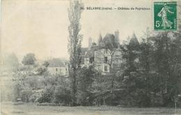 36 BELABRE Château De Puyrajoux CPA Ed. Berton Dauphin N°24 - Autres Communes