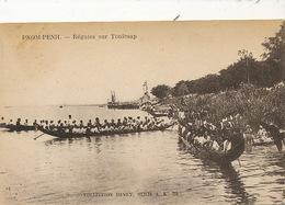 Phnom Penh Regates Sur Le Tonlé Sap Coll. Henry Serie A  No 29  Boat Race - Cambodge