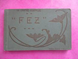 CARNET DE 20 CPA DETACHABLES MAROC FEZ - Fez (Fès)