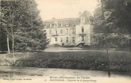 37 MONTBAZON Propriété De La Grange Rouge CPA Ed Georges Rouget N°18 - Montbazon