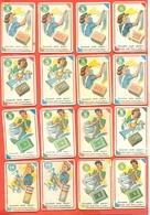 Figurine MIRA LANZA - Trading Cards- Gift Cards --lotto Di 22 Pezzi Differenti - Pubblicitari