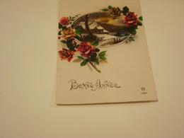 BONNE ANNEE 1937 - Cartes Postales