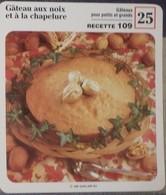 Fiche Recette Cuisine - Gâteau Aux Noix Et à La Chapelure - Mes Recettes Préférées - Alte Papiere