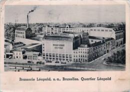 Bruxelles - Brasserie Léopold - Monuments, édifices