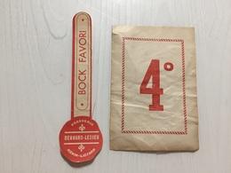 Ancienne Étiquette 1.1 BIÈRE HÉNIN LIETARD BRASSERIE BERNARD LEDIEU - Bier
