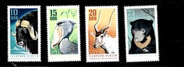 Serie De DDR  Nº Yvert 1308/11 ** ANIMALES (ANIMALS) - [6] República Democrática