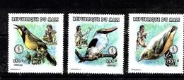 Serie De Mali Nº Yvert 1115/17 **  AVES (BIRDS) - Mali (1959-...)