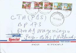 Congo 2003 Brazzaville Fruit Tsia 70f Bamou 80f Cover - Congo - Brazzaville