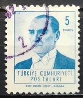 1961 TURKEY Mustafa Kemal Pasha Ataturk - 1921-... Republiek