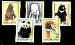 Serie De Hungría Nº Yvert 2587/91 **  ANIMALES (ANIMALS) - Hungría