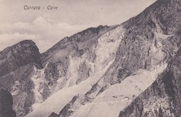 CARTOLINA - POSTCARD - CARRARA - CAVE - Carrara