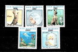 Serie De San Marino Nº Yvert 1273/77 **  ANIMALES (ANIMALS) - San Marino