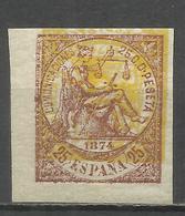 344-SELLO ESPAÑA 1874 PRUEBAS Nº147+149 MACULATURA,DOBLE IMPRESIÓN.MAGNIFICO.IMAGENES REALES.PROOF,ESSAY,TEST.SELLO CLAS - 1873-74 Regentschaft