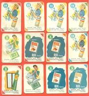 Figurine MIRA LANZA - Trading Cards- Gift Cards --lotto Di 20 Pezzi Differenti - Pubblicitari