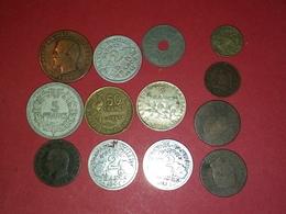 SUPERBE 13 Monnaies Françaises 2 Francs ARGENT 1914 TTB Et Autres Non Nettoyé VOIR PHOTOS - Frankreich
