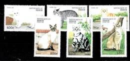 Serie De Benin  Nº Yvert 844/49 **  GATOS (CATS) - Benin – Dahomey (1960-...)