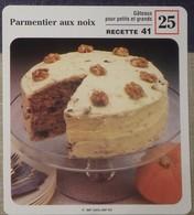 Fiche Recette Cuisine - Parmentier Aux Noix Gâteau  - Mes Recettes Préférées - Alte Papiere