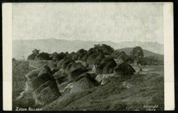Ref 1257 - Early Ethnic Postcard - Zigua Native Village Tanzania - Tanzania