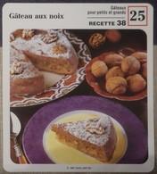 Fiche Recette Cuisine - Gâteau  Aux Noix - Mes Recettes Préférées - Alte Papiere