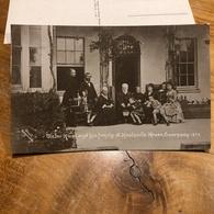 Ansichtskarte Viktor Hugo And His Family At Hauteville House Guernsey 1878 - Schriftsteller