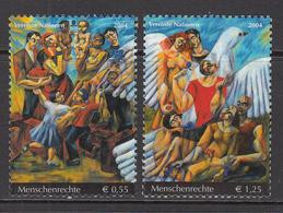2004 UN Vienna Human Rights Modern Art Set Of 2 MNH - Non Classificati