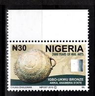 Nigeria, 2010- 2000 Years Of Nigerian Arts. Awka, Anambra State. NewNH - Nigeria (1961-...)